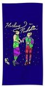 Harley N Puddin Beach Towel