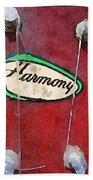 Harmony Uke Beach Towel