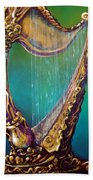 Harp Beach Towel