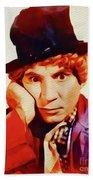 Harpo Marx, Hollywood Legend Beach Sheet