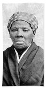 Harriet Tubman 1823-1913.  To License For Professional Use Visit Granger.com Beach Towel