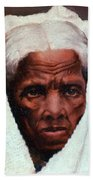 Harriet Tubman, African-american Beach Towel by Photo Researchers