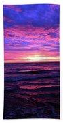 Harrington Beach Sunrise 3 Beach Towel