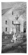 Harrington Meetinghouse -bristol Me Usa Beach Sheet