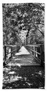 Harry Easterling Bridge Peak Sc Black And White Beach Towel