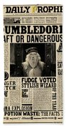 Harry Potter And The Half-blood Prince 2009 Beach Towel
