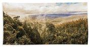 Hartz Mountains To Wellington Range Beach Sheet