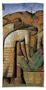 harvest, by Alfredo Ramos Martinez Beach Towel