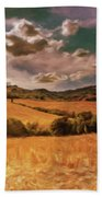 Harvest Time Beach Towel