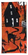 Haunted Forest Beach Towel