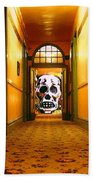 Haunted Hallway Beach Towel