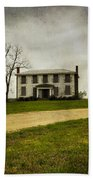 Haunted House On A Hill Beach Towel