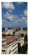 Havana Rooftops Beach Towel