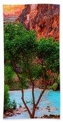 Havasu Falls Beach Towel