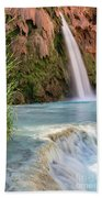 Havasu Falls Travertine Ledge Beach Towel