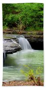 Haw Creek Falls Beach Towel