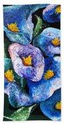 Hawaii Flowers Beach Towel