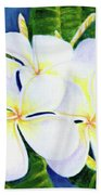 Hawaii Tropical Plumeria Flower  #208 Beach Sheet