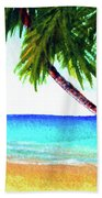 Hawaiian Beach Palm Trees  #425 Beach Sheet