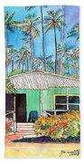 Hawaiian Cottage I Beach Towel