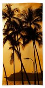 Hawaiian  Cruise Beach Towel