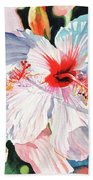 Hawaiian Hibiscus Beach Towel
