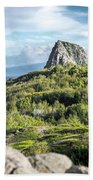 Hawaiian Island Drive Beach Towel by T Brian Jones