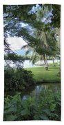 Hawaiian Lagoon Beach Towel