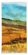 Hawaiian Pasture Beach Towel