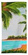 Hawaiian Tropical Beach #429 Beach Towel