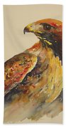 Hawk Messenger Beach Towel