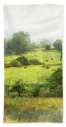 Hay Fields Beach Towel