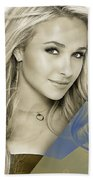 Hayden Panettiere Collection Beach Towel