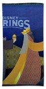 Three Wise Men Disney Springs Beach Towel