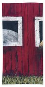 He And She Beach Towel by Kathryn Riley Parker