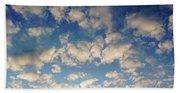 Head In The Clouds- Art By Linda Woods Beach Towel