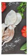 Healthy Diet Food Beach Towel
