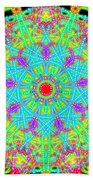 Heart At The Center Beach Towel