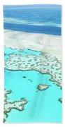 Heart Reef Beach Towel