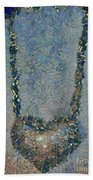 Hearted On Your Wall Again Medalion Painting Beach Towel
