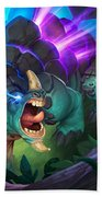 Hearthstone Heroes Of Warcraft Beach Towel
