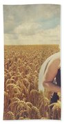 Hearts And Thoughts They Fade....fade Away Beach Towel