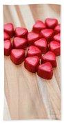 Hearty Heart Beach Towel