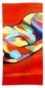 Heat Beach Towel by Helena Wierzbicki