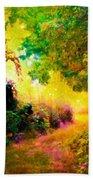 Heaven's Garden Beach Towel