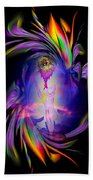 Heavenly Apparition Beach Towel