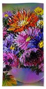 Heavenly  Blossom Beach Towel