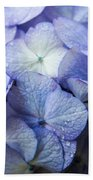 Heavenly Hydrangeas Beach Sheet