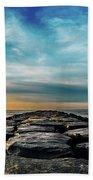 Heavenly Jetty Beach Towel