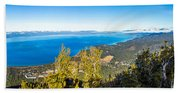Heavenly South Lake Tahoe View 1 - Right Panel Beach Sheet